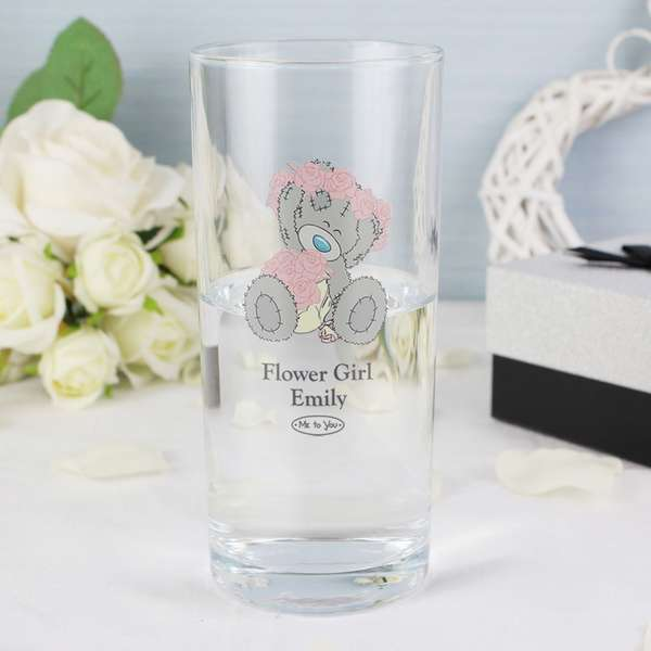 Wedding Gift Cocktail Glasses : Me To You Wedding Hi Ball Glass - ?11.95 : Personalised Glass ...